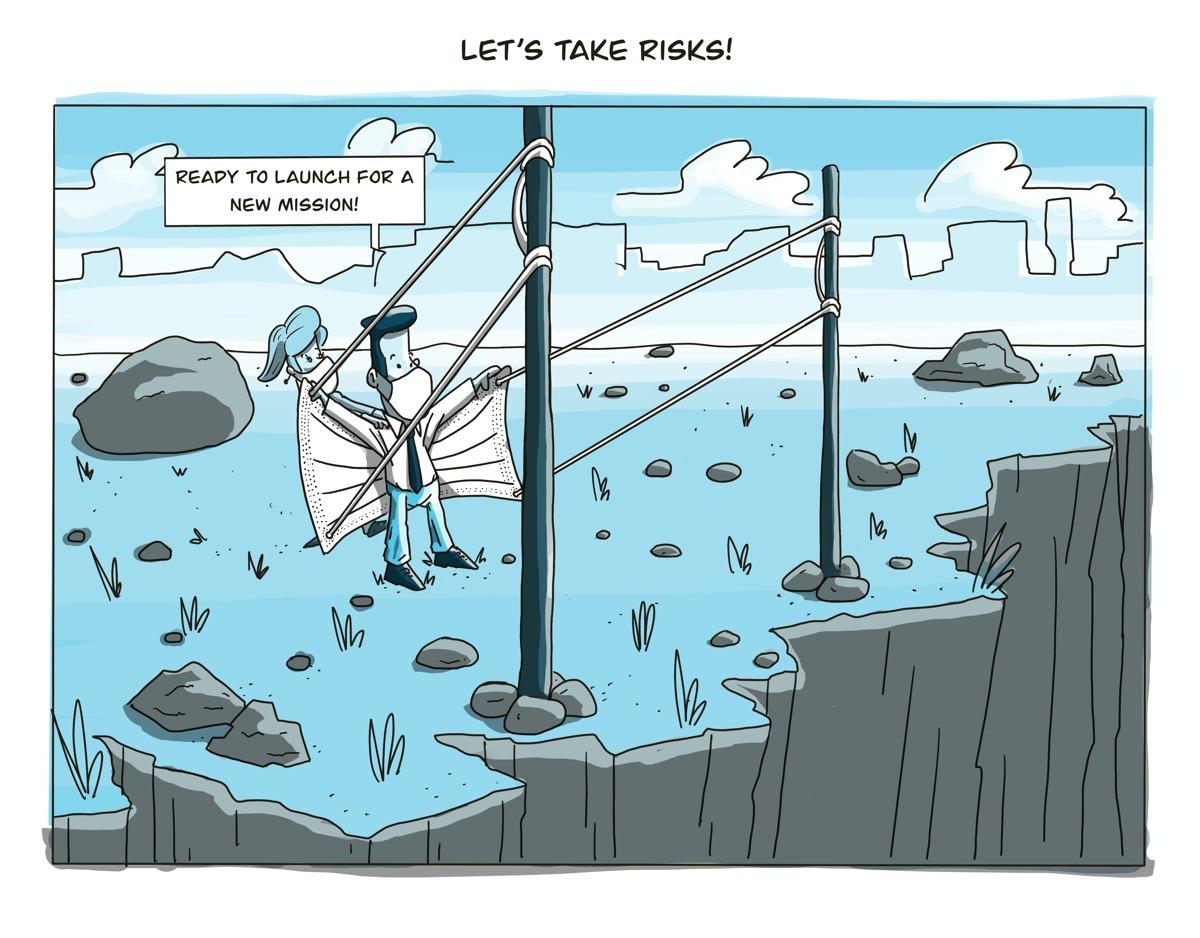 cartoon by adm