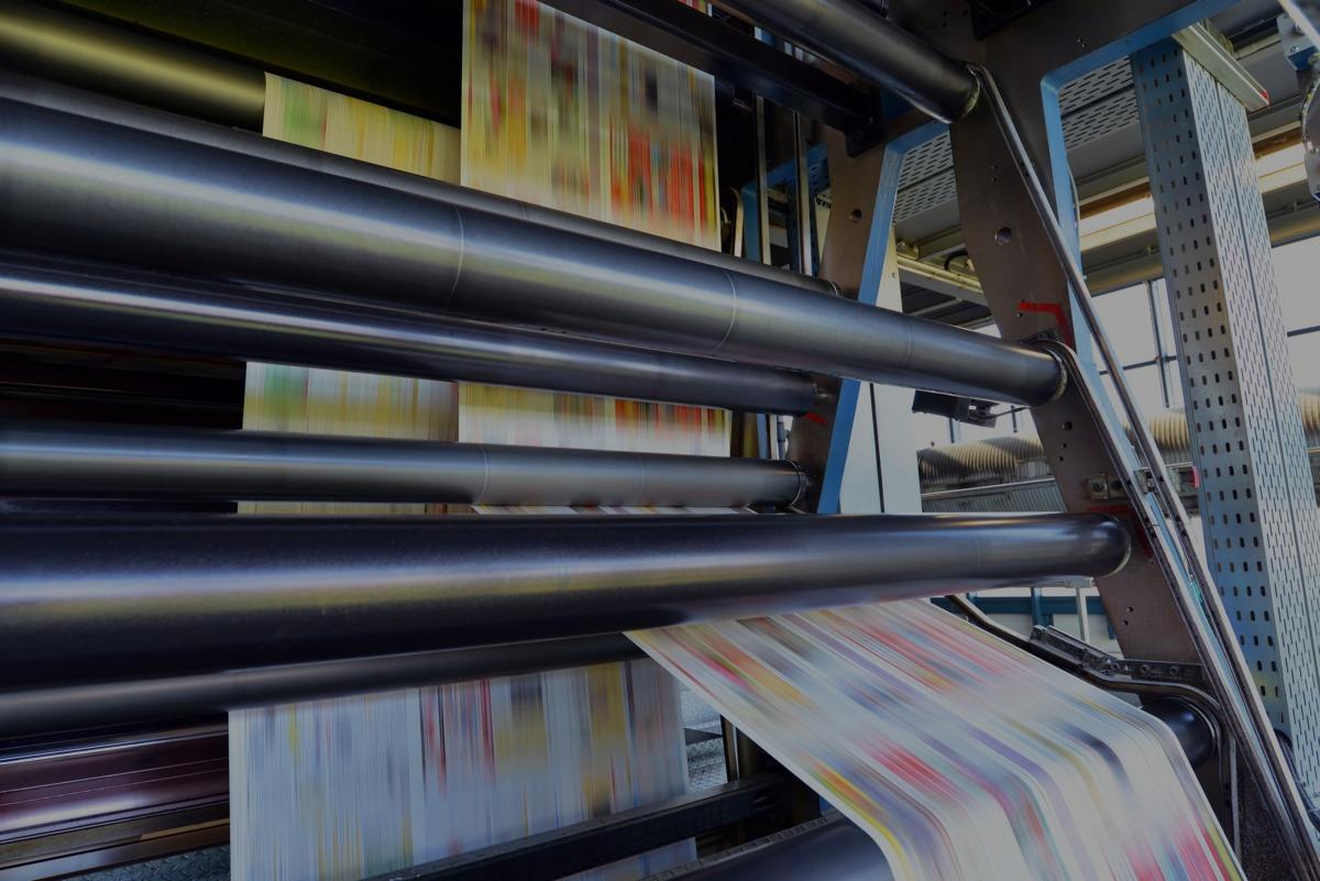 roll press digital magazine cover